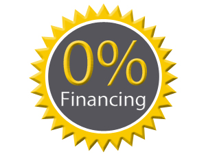 We offer 0% Financing! Contact us for more information. -