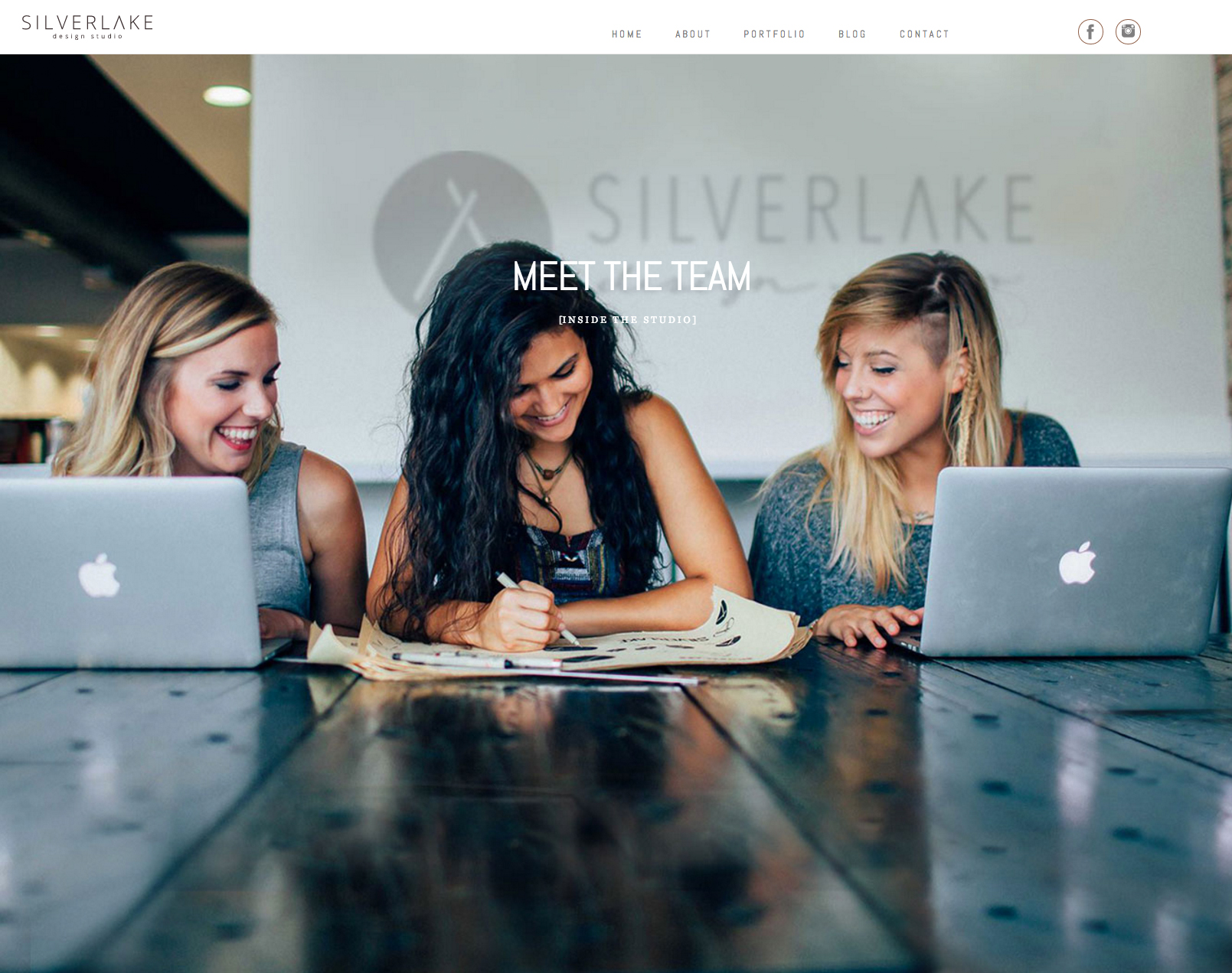 Here's a peak at Silverlake's finished site design.