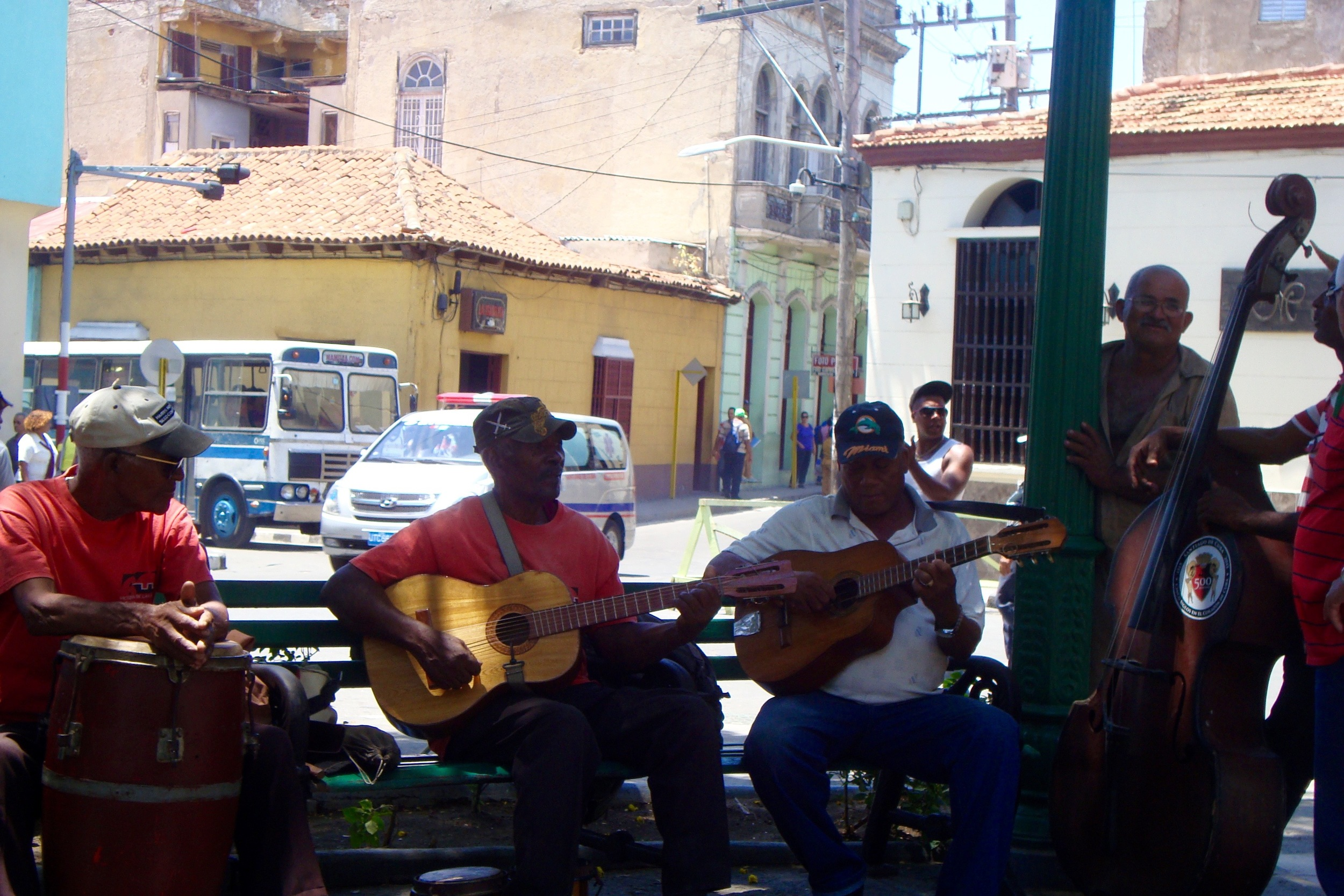 Jamming out to Afro-Cuban vibe