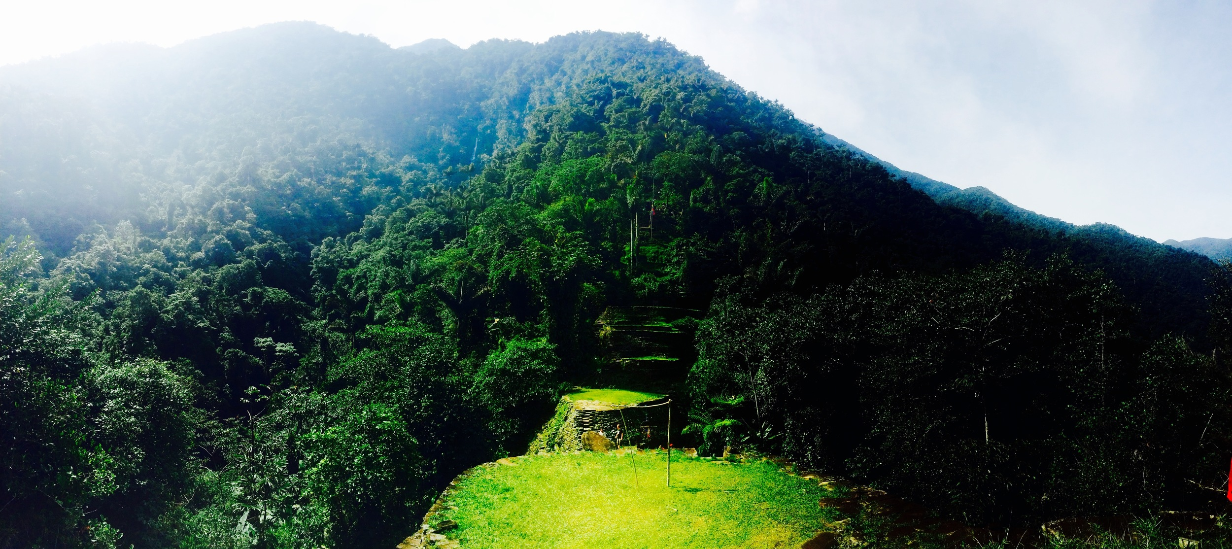 It took five days of trekking through dense Colombian rainforest to reach the Lost City, founded 600 years before Machu Pichuu. Some 50,000 indigenous people still live in the Sierra Nevada of Santa Marta.