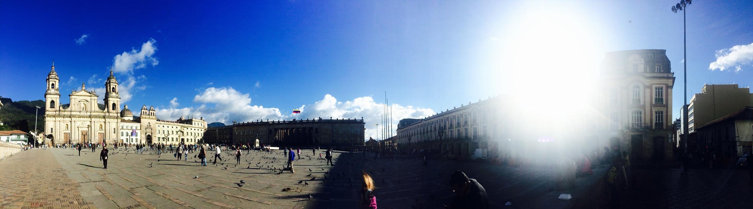 Plaza de Bolivár, Bogotá