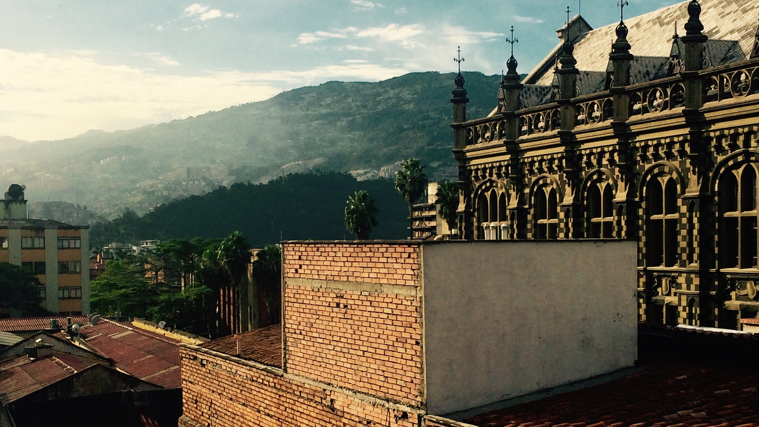 Another gorgeous day in Medellín.