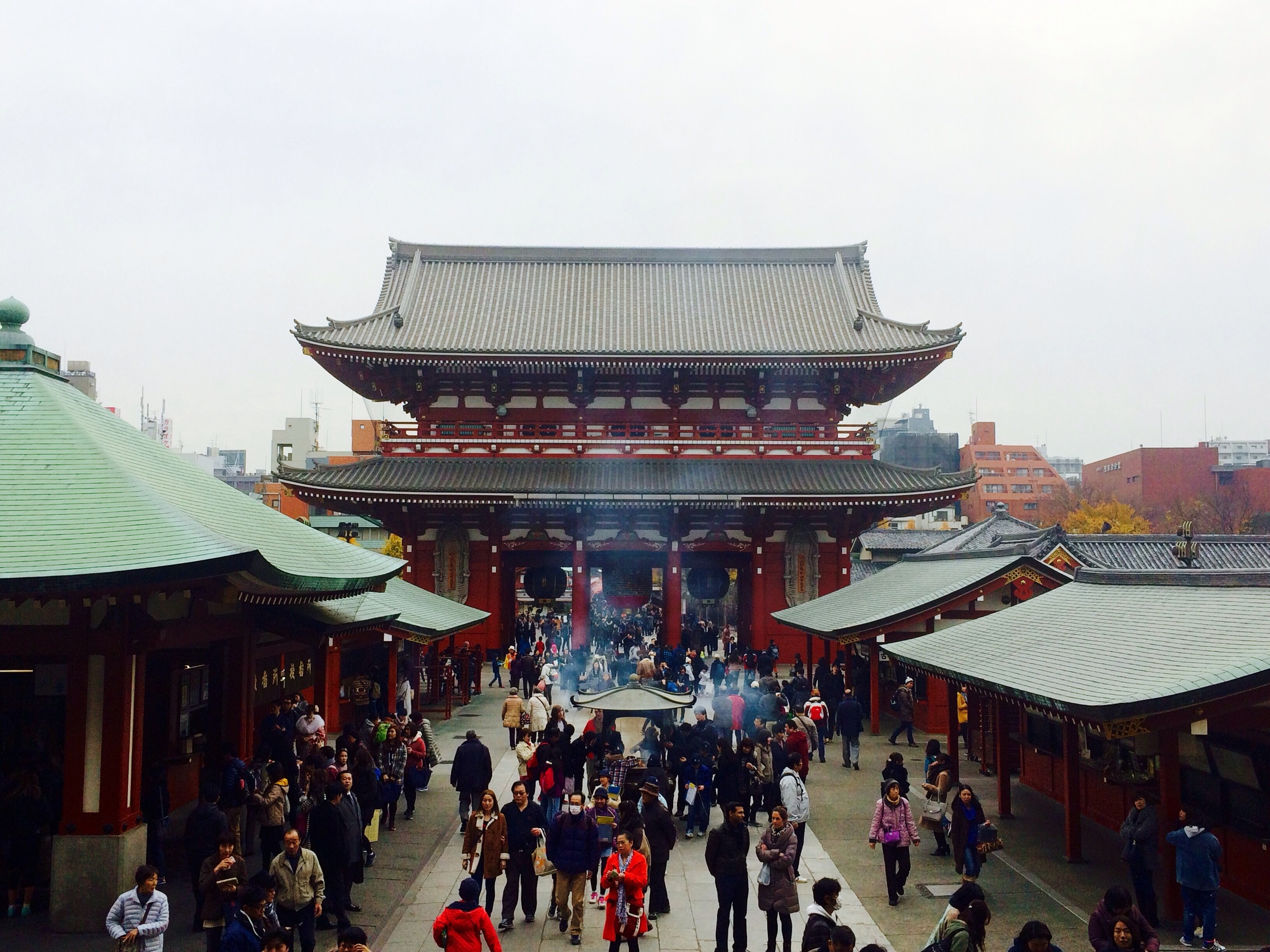 Senso-ji in Tokyo was founded in the year 645 AD