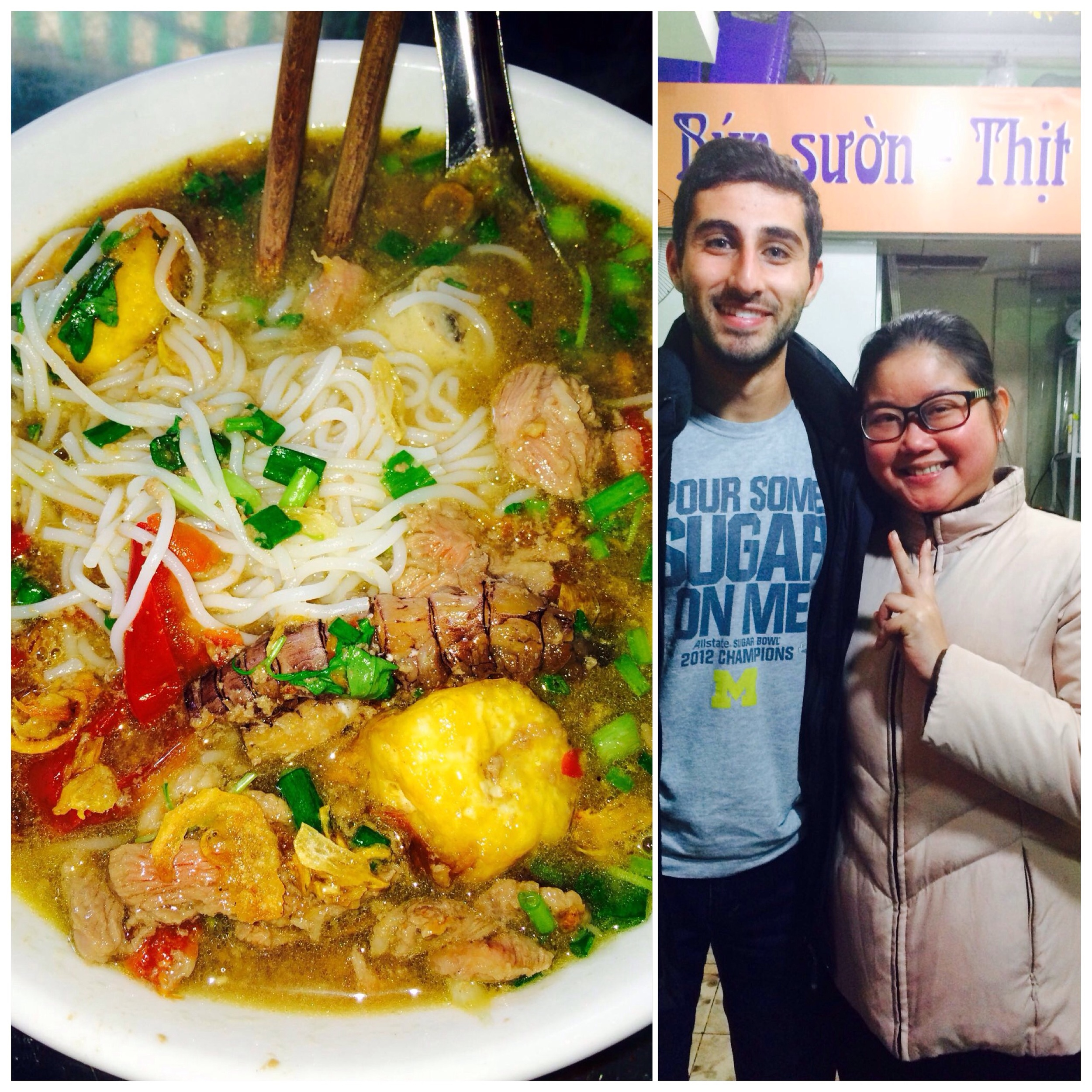 My friend Thanh in Hanoi makes the most unbelievable crawfish  bún mam , among other things.