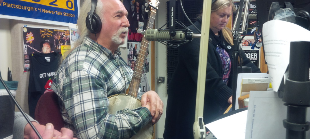 Goodkind during an appearance on WMVT in Colchester. Photo courtesy of the Goodkind campaign.