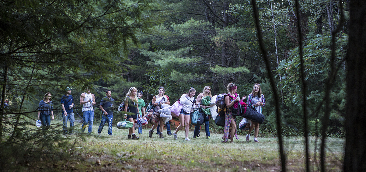 Heading to camp. Photo by Shaun Ondak.