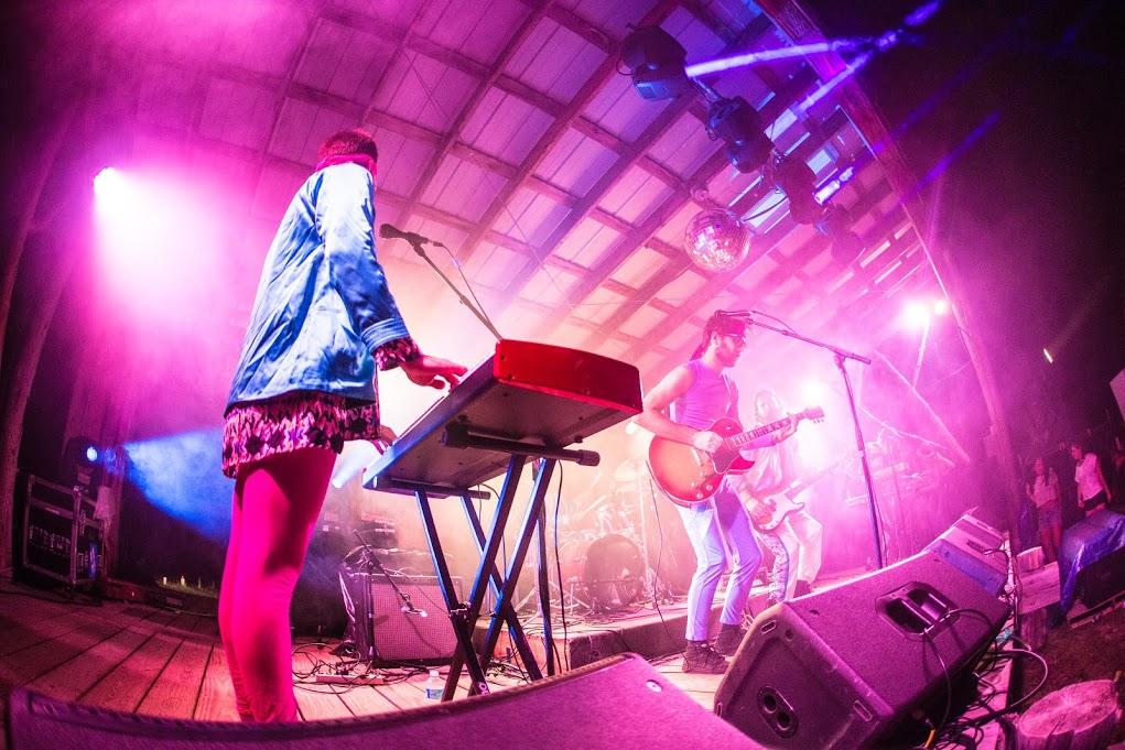 Madaila goes Technicolor. Photo by Pete Cirilli.