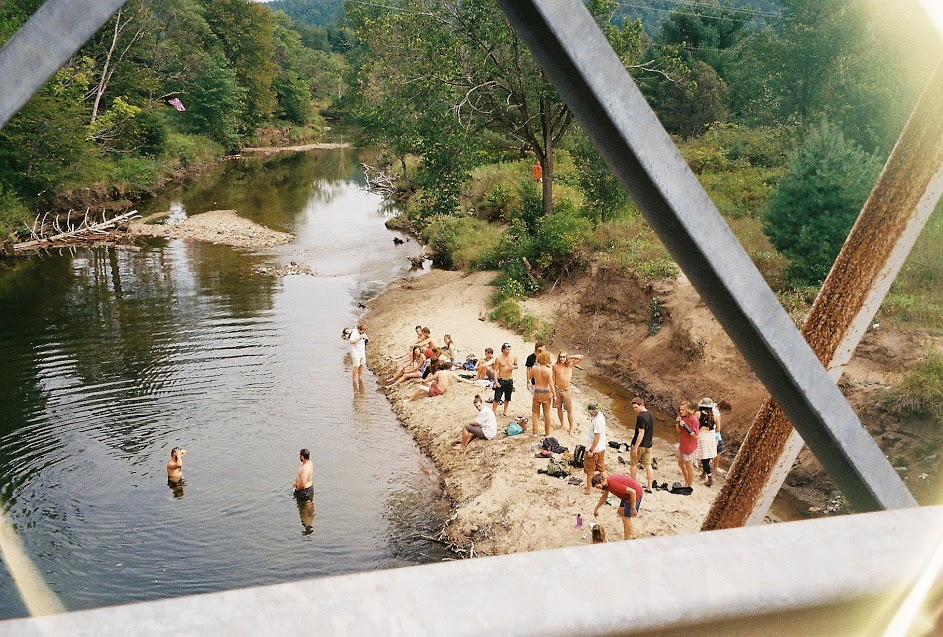 River swim. Photo by Michael Doordan.