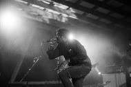 Rough Francis frontman, Boby Hackney Jr.. Photo by Casey Joseph.