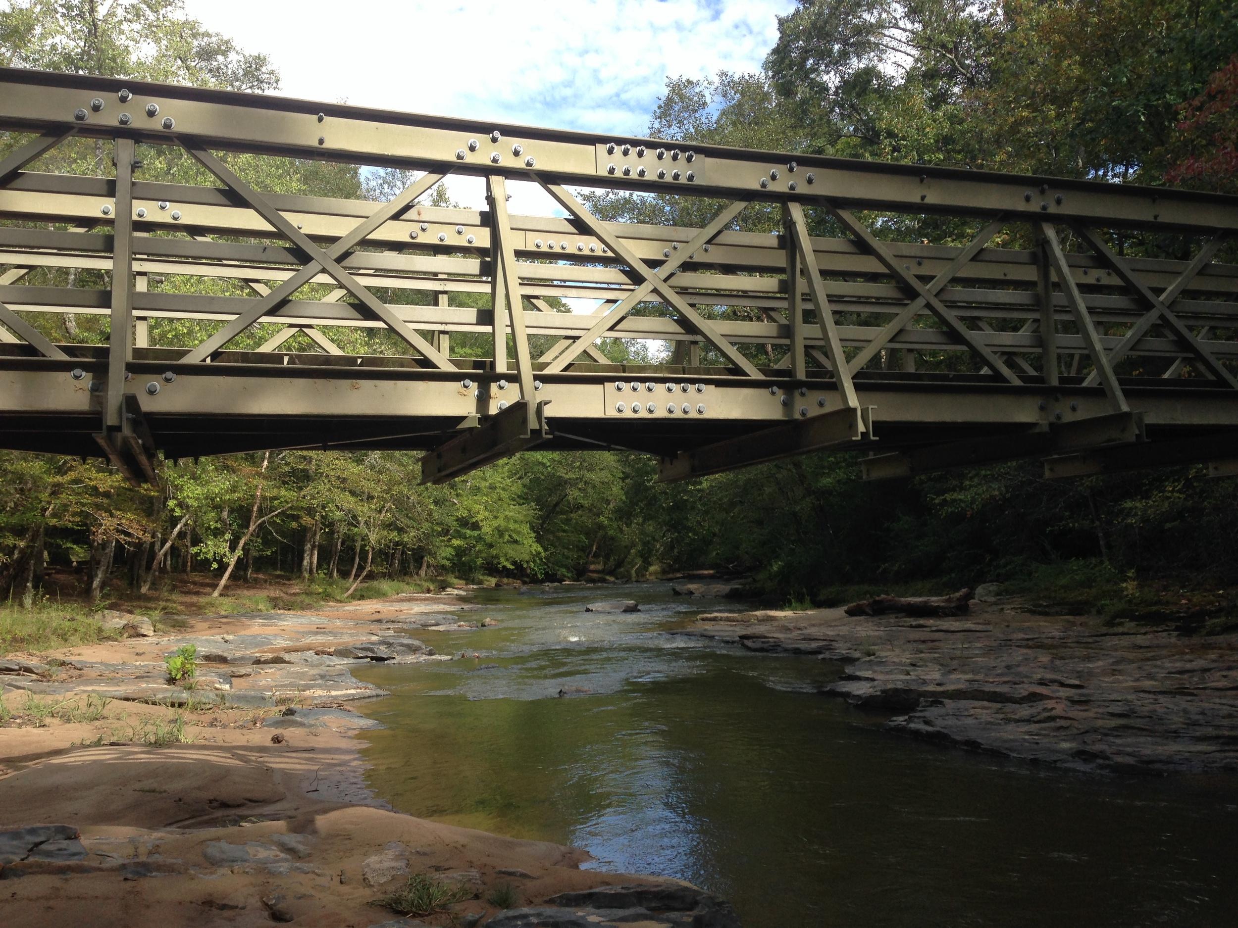Bridge over Fairforest Creek.