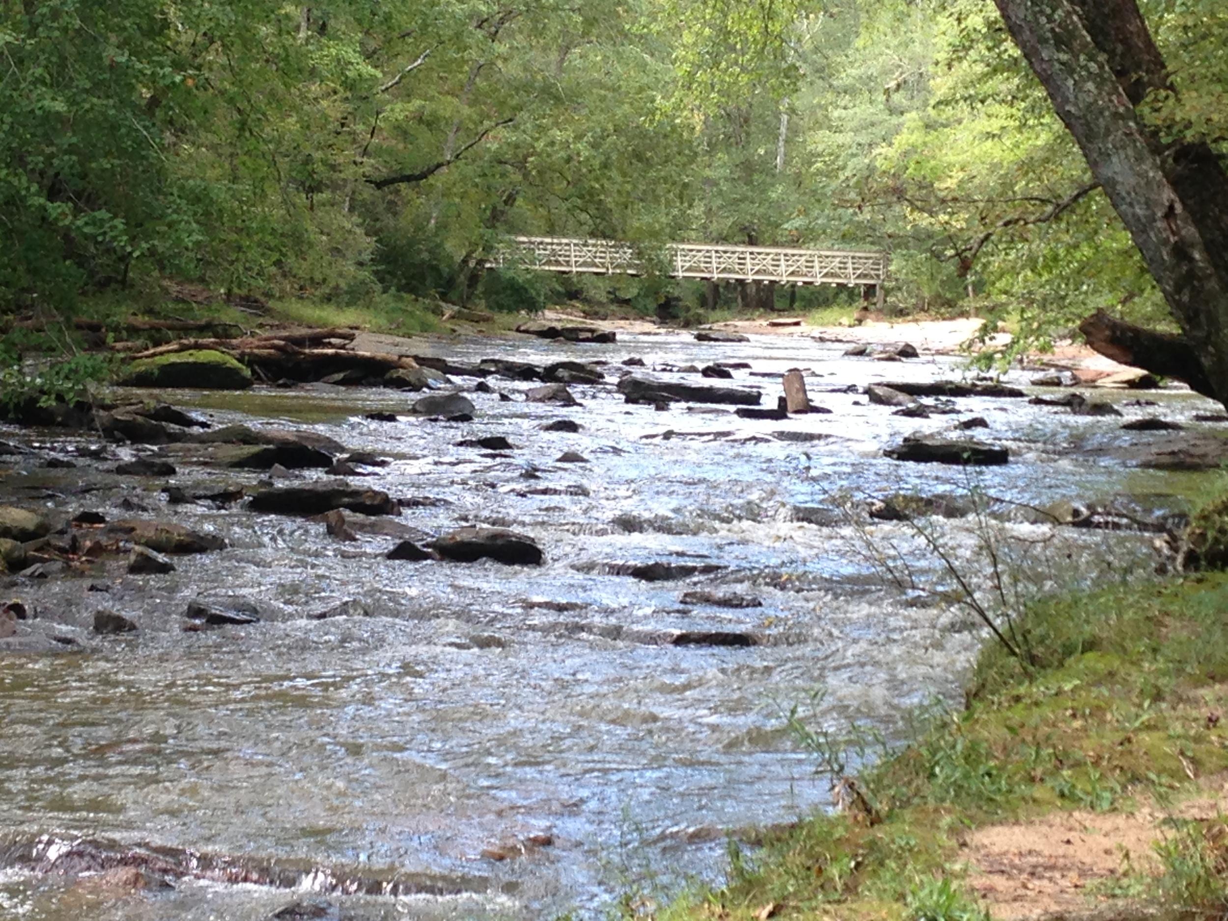 Rambling creek.