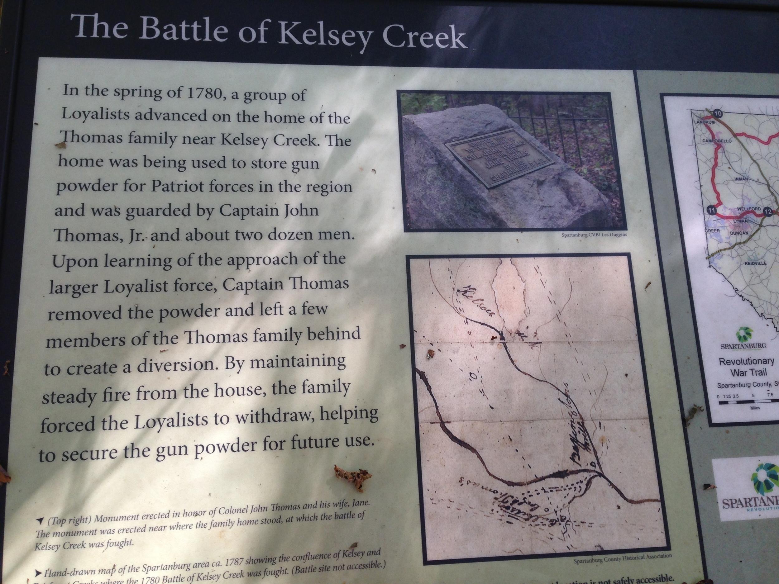 History of Kelsey Creek.