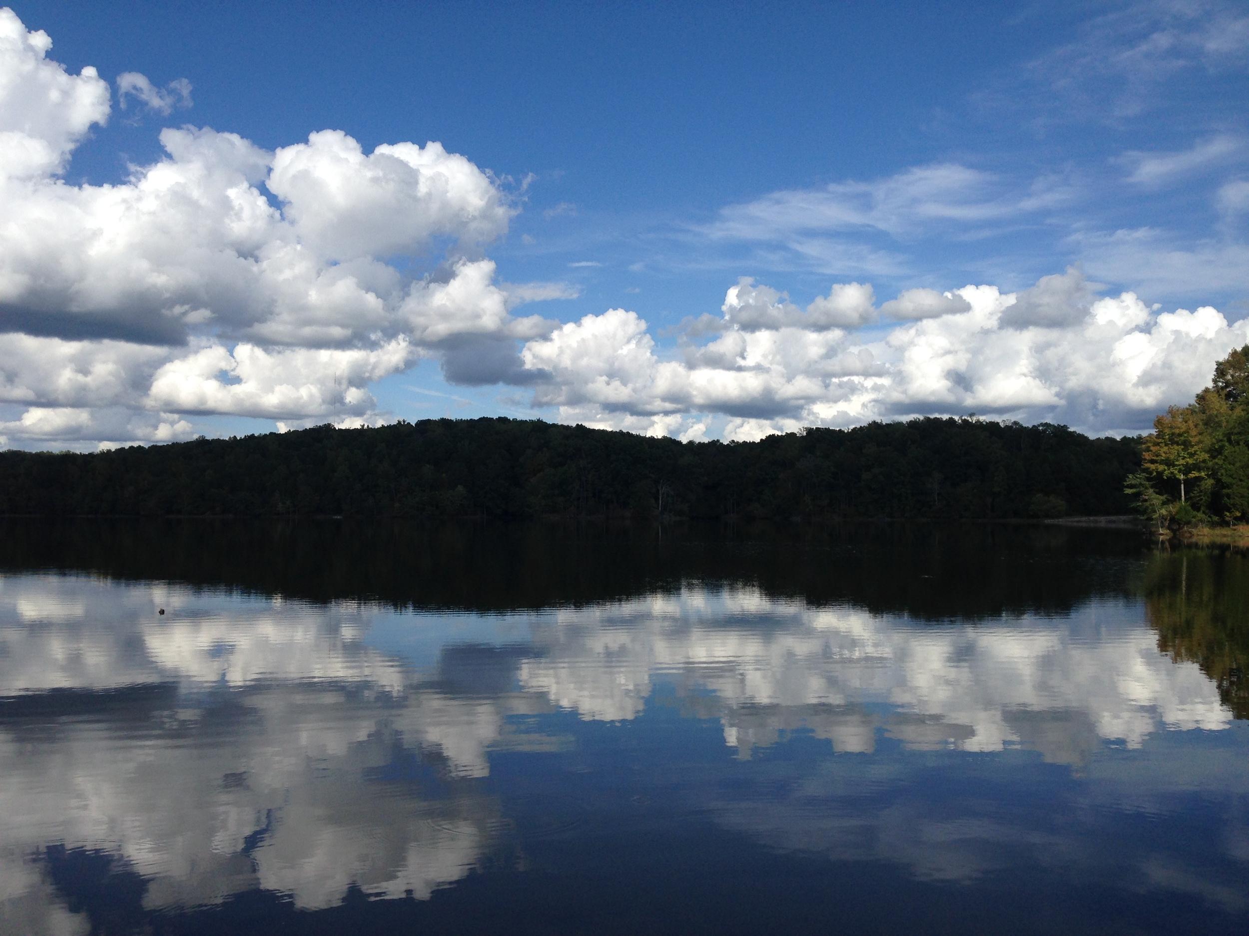 Mirror image on Lake Craig