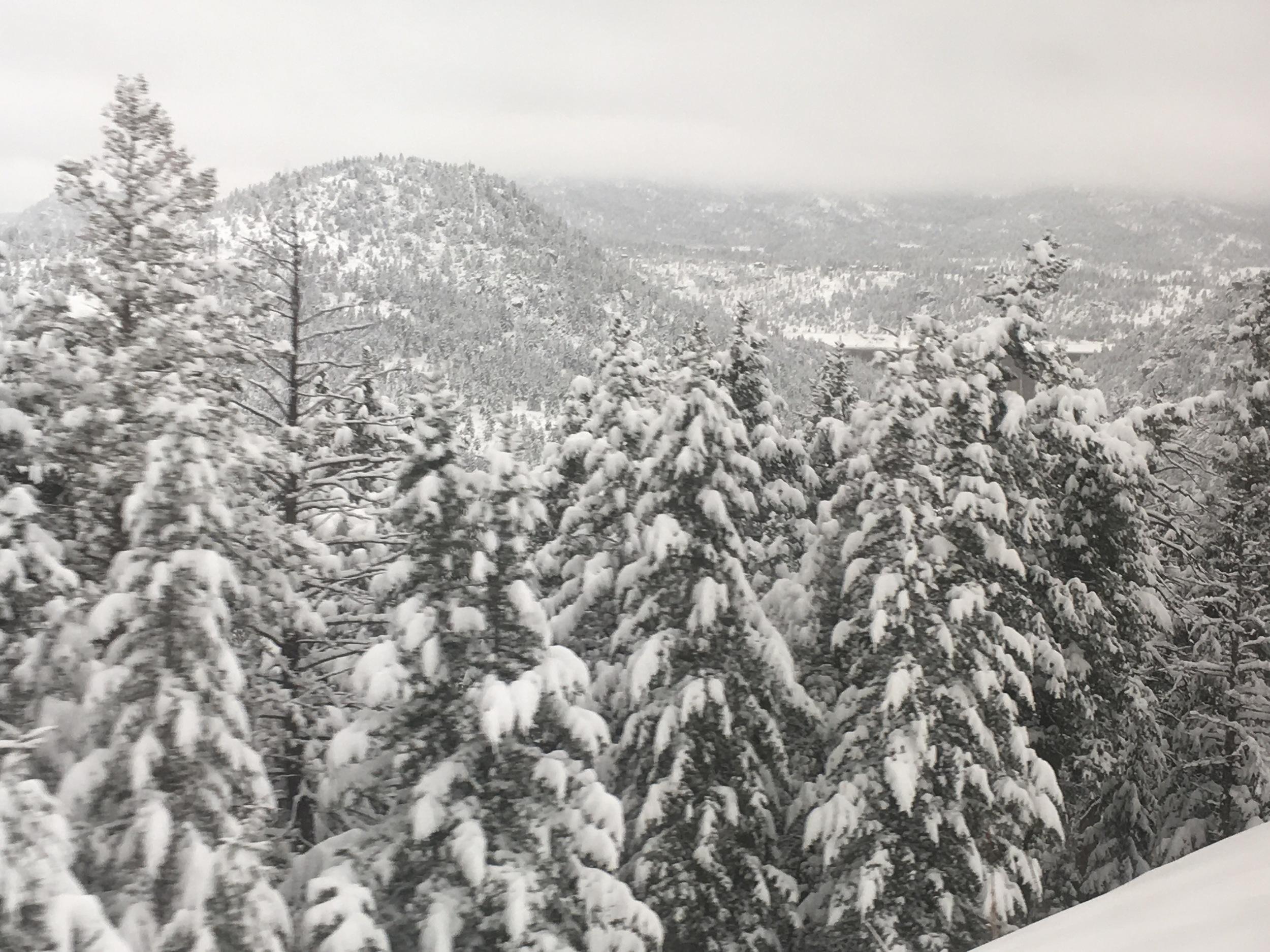 Spring has not sprung in the Rockies.