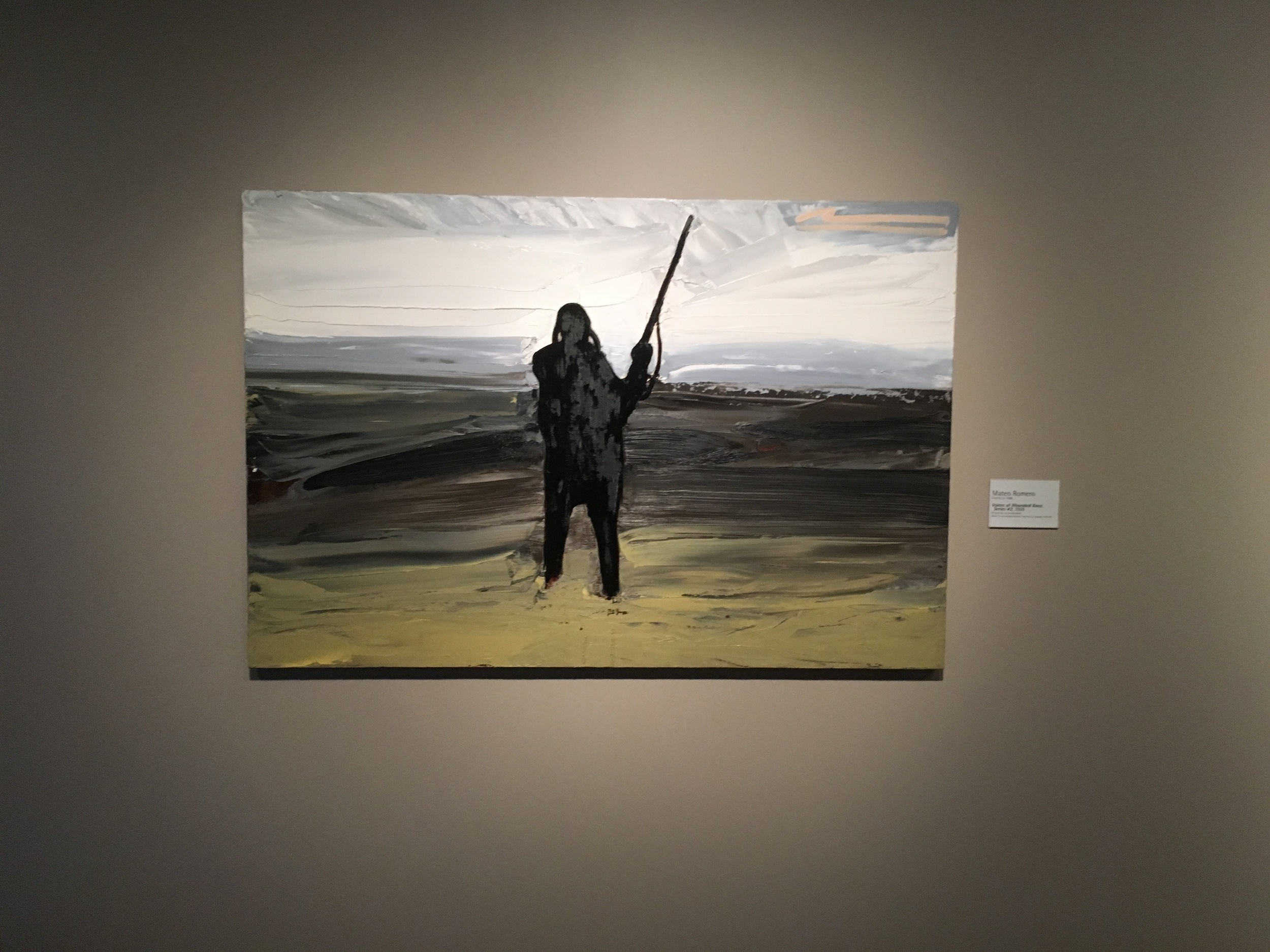 Voices at Wounded Knee, Series #2- Mateo Romero, 2008