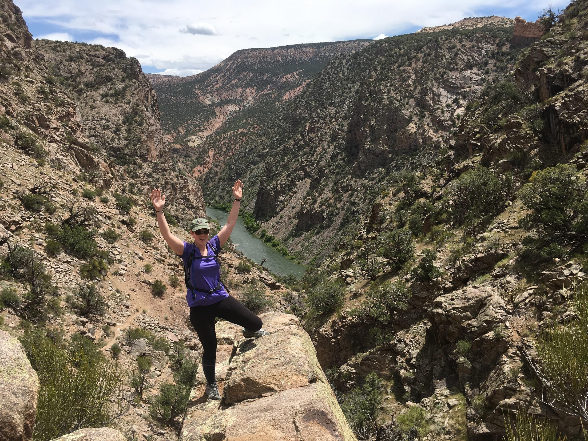 Big arms, big canyon!