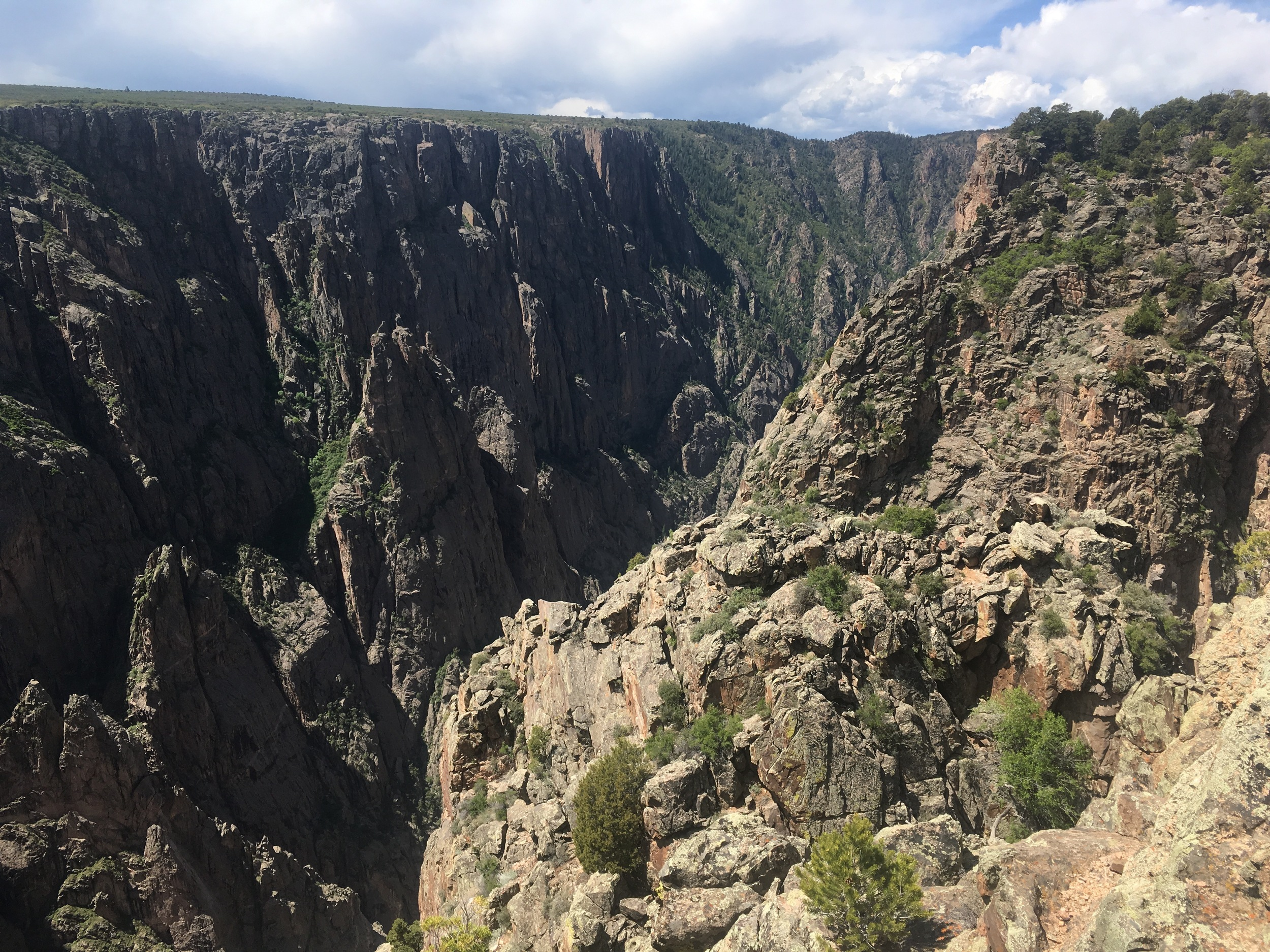 Defined by narrowness, steep drops, and the unforgiving harshness of the riverbed, the Black Canyon is a dangerous spectacle to behold.