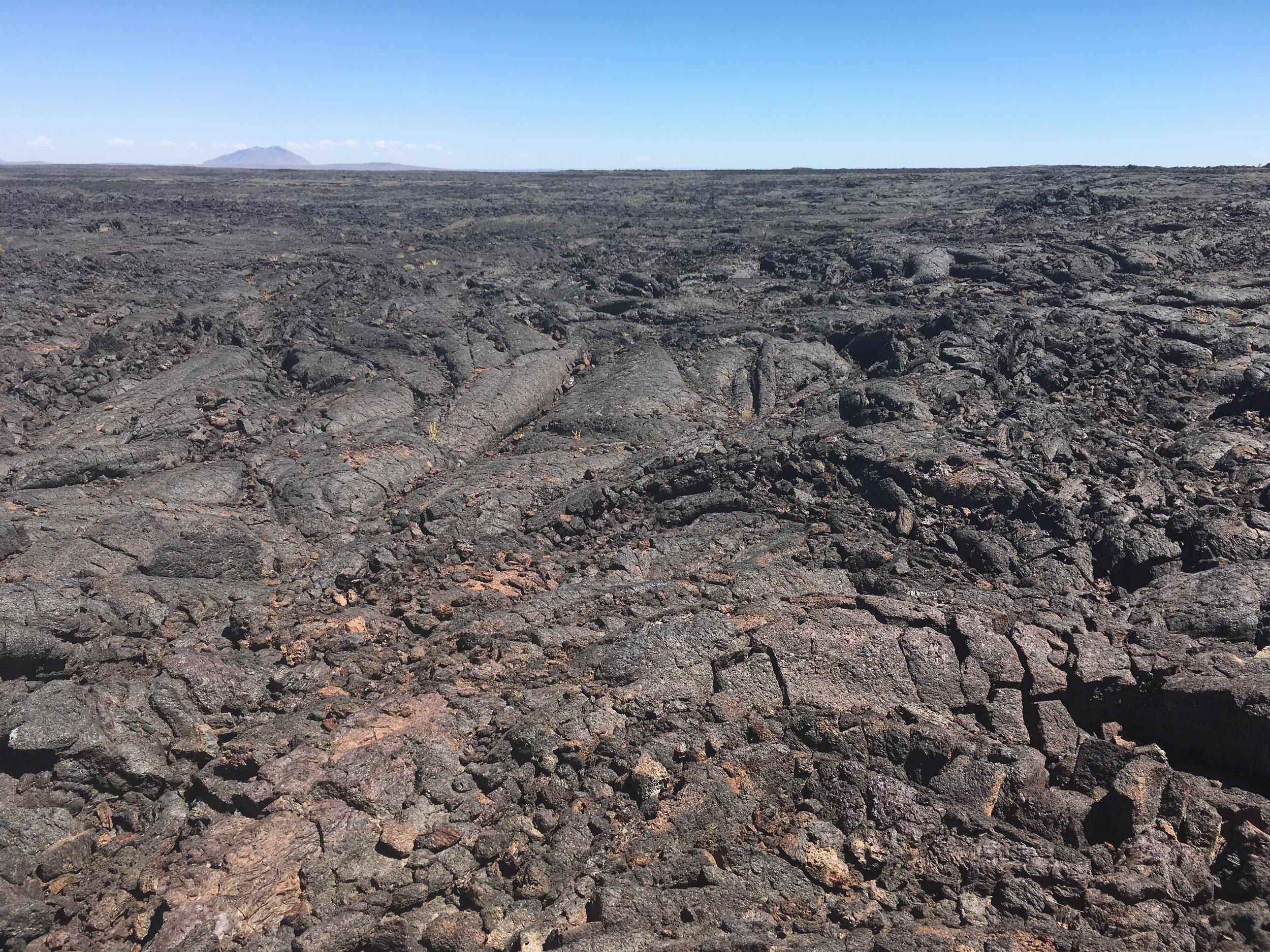 Ancient lava beds.