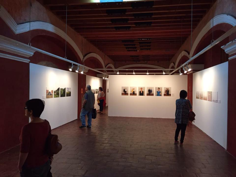 GuatePhoto festival. Foto Féminas' exhibition featuring the work of twelve photographers. Antigua, Guatemala. 2015