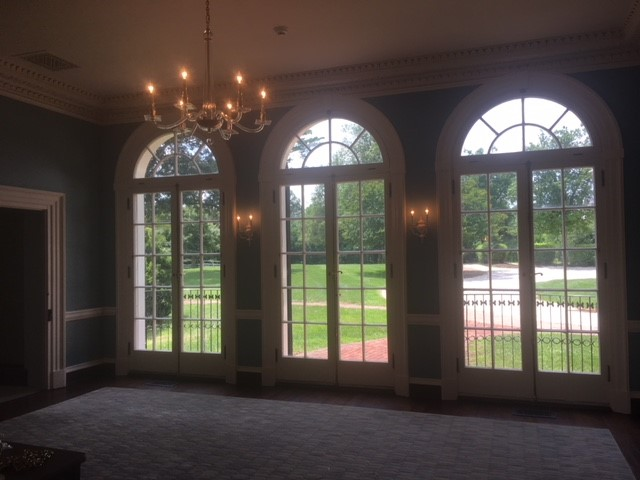 FINALLY, OPEN FOR BUSINESS AGAIN - EARLY SUMMER EVENING AND ALL IS WELL IN THE NEWLY RESTORED UNDERWOOD ROOM!