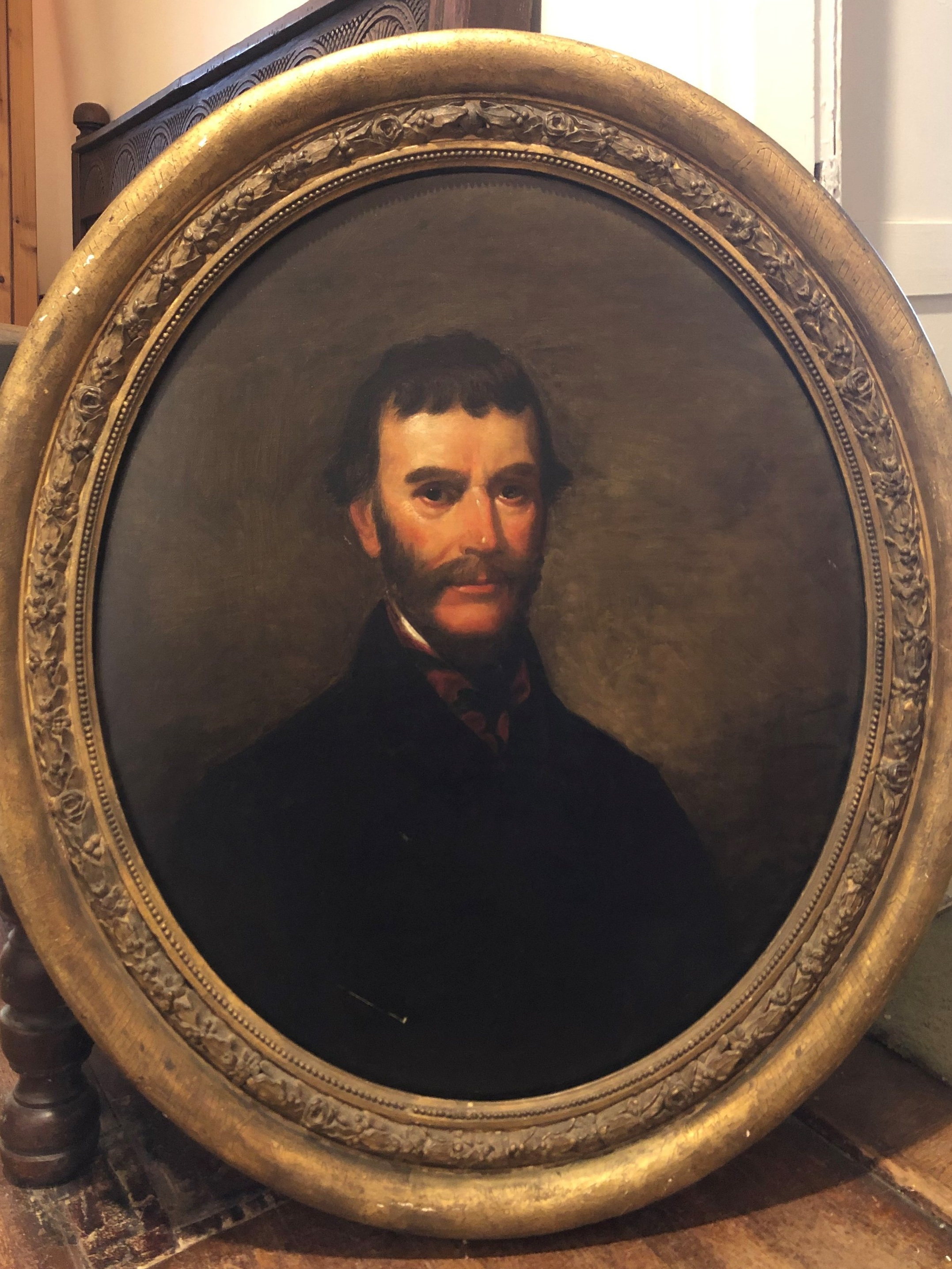 Help us Restore and Display our Collection Pieces! - We have recently restored four portrait frames ready for the upcoming season, but we have more work to do, including work to repair on this portrait of a member of the Butler family, a descendant of Nelly & Lawrence's first child, Francis Parke Lewis. We also hope to procure more secure and modern display cases to safely exhibit new pieces, like the recently-acquired Martha Washington pillow to you, to the public!WE NEED $5,000 FOR THIS PROJECT - CLICK HERE TO DONATE NOW!