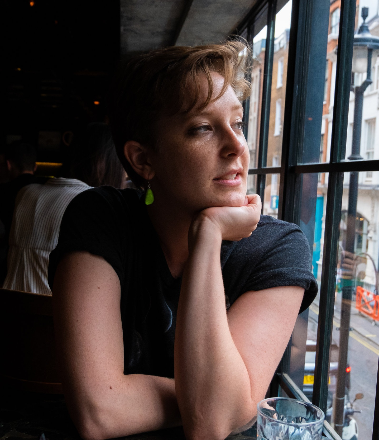 Mary Cate Curley - Mary Cate Curley is a novelist and short story writer living and working in DC. Her work has appeared in Monkeybicycle, Barrelhouse, River & Sound Review, and Eleven Eleven Review, among others, and her story