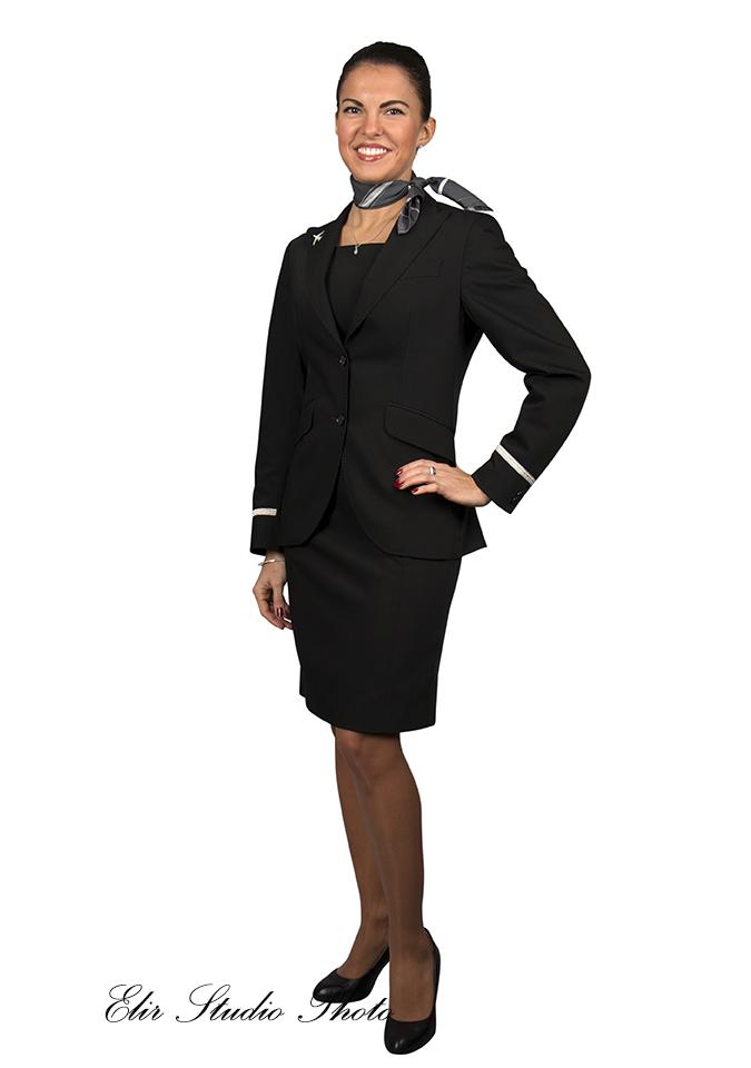 flight attendant shooting Brussels
