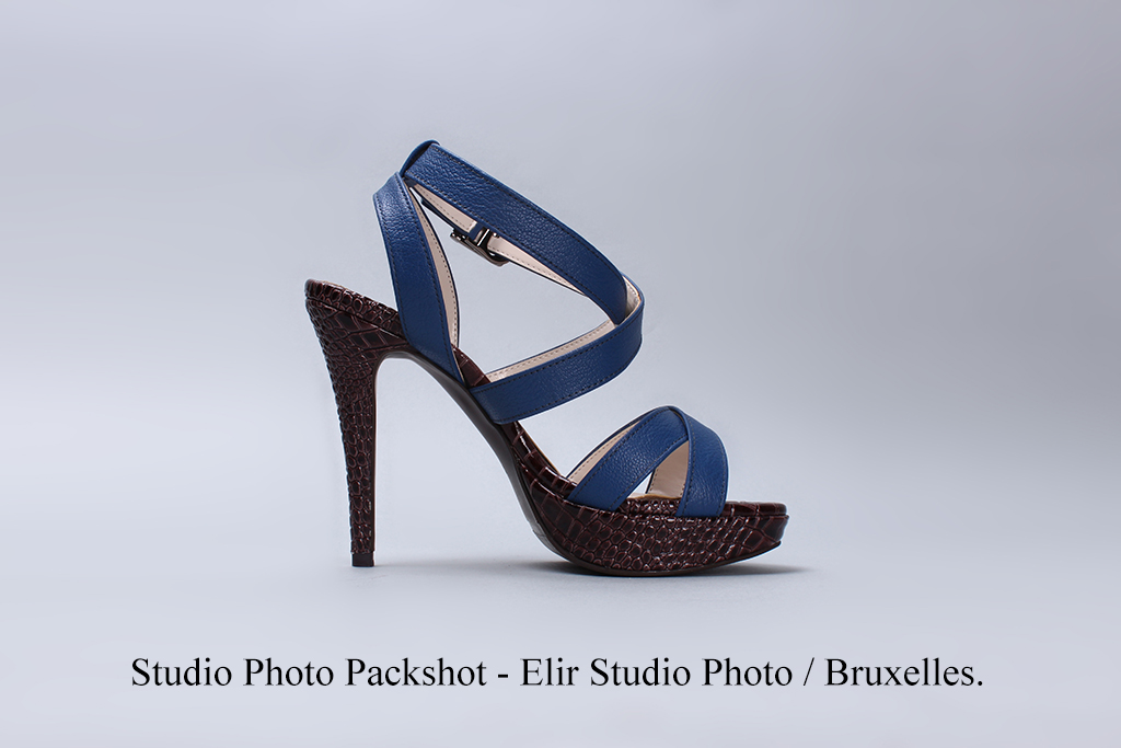 Shoes packshot photography Brussels