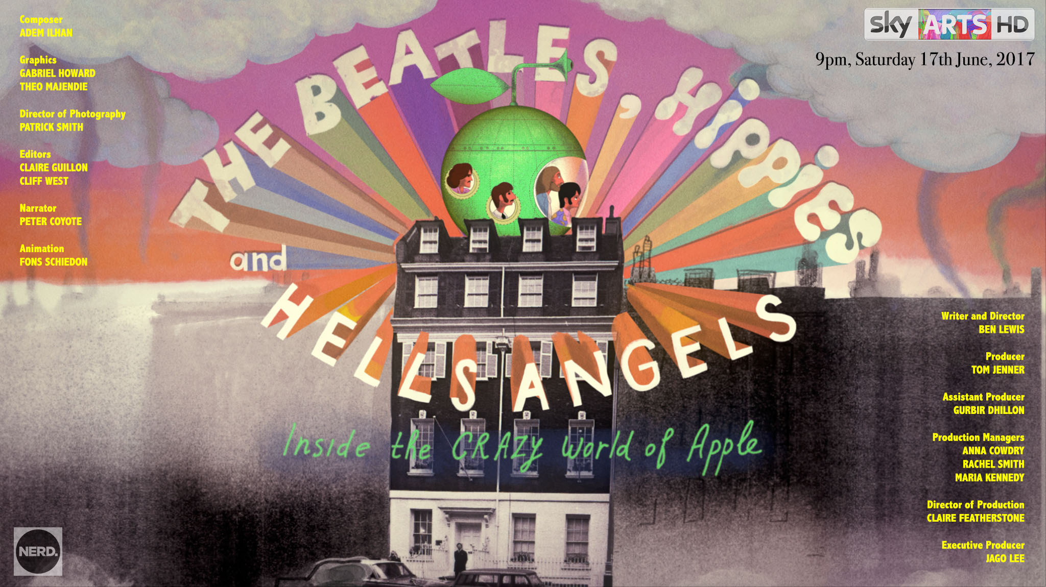 The Beatles, Hippies and Hell's Angels - Ben Lewis Director