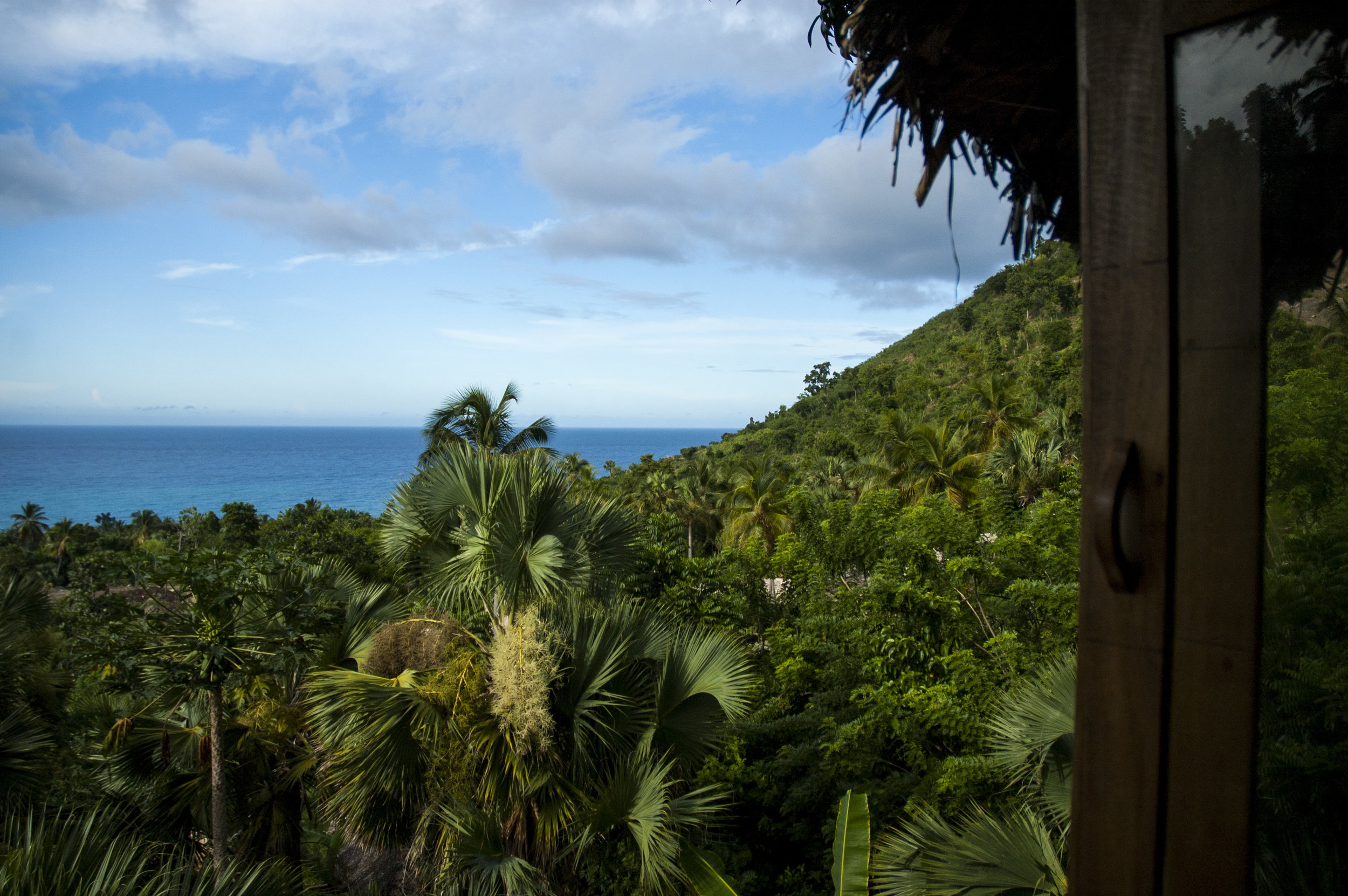 Views from Haiti Surf Guesthouse
