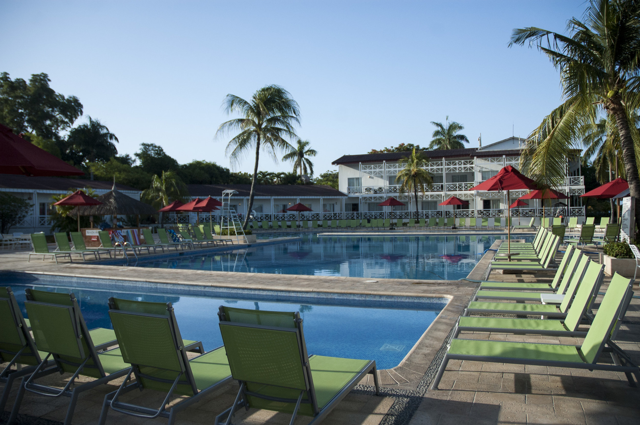 Poolside at Royal Decameron Indigo Resort & Spa