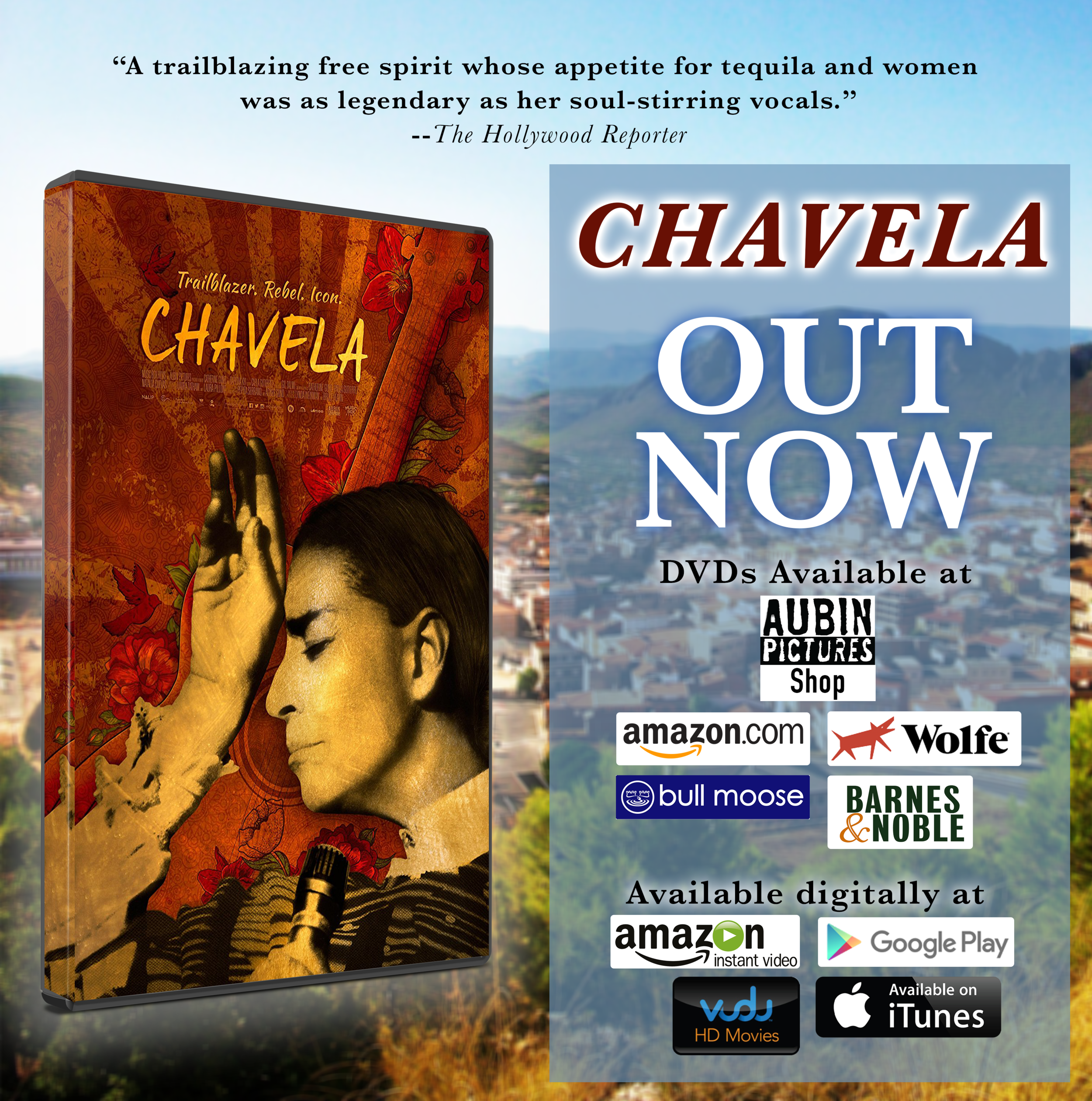 Chavela DVD Announcement flyer.png