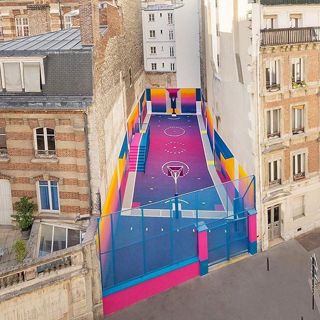 Aim for at least 30mins of physical activity each day @mayoclinic  #Repost @pigalle_ashpool ・・・ From us to the youth! Brand new court delivered by Pigalle & Ill-Studio with the love of @nike 🇫🇷 #nikepigalle #pigalleduperre @illstudio #illstudio @volontiers_paris #pppdiary