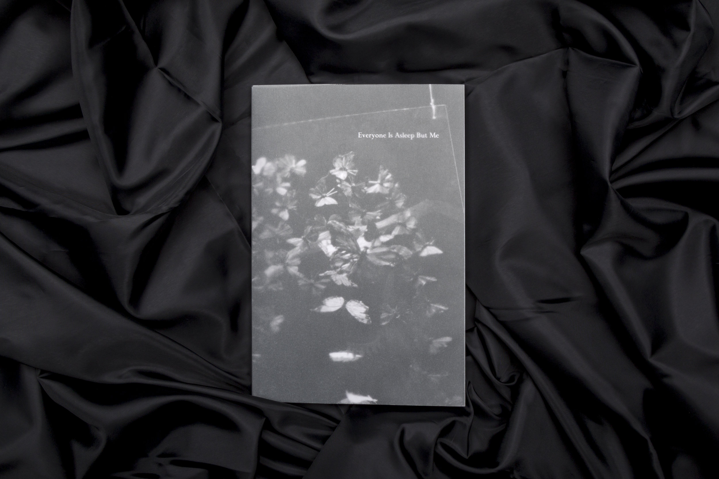Everyone Is Asleep But Me: A Collaborative Project Considering Night  is now available for purchase online! Check it out in the bookshop. Edited by Angelina Lin and Marisa Sottos, the book pairs up twenty-four visual artists and writers to create work around their ideas about night. Its pages include intense emotional experiences, fictional narratives, and contemplative humor.