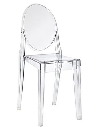 Lucite Chair Armless (Acrylic)