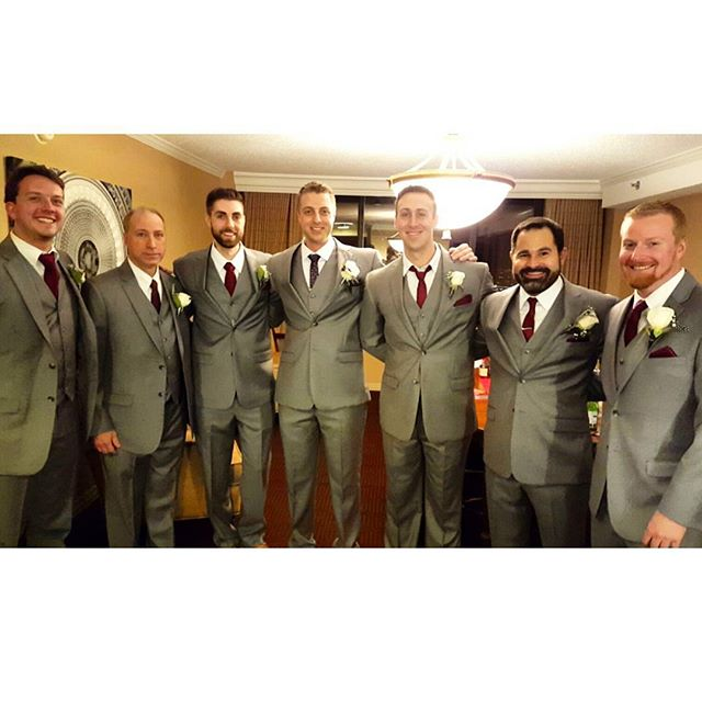Handsome #groom with his #groomsmen & #father #boutonniere #wedding #eventplanner #flower #decor #arrangements #nye #cateringmadesimple #icaterevents #icatermenu