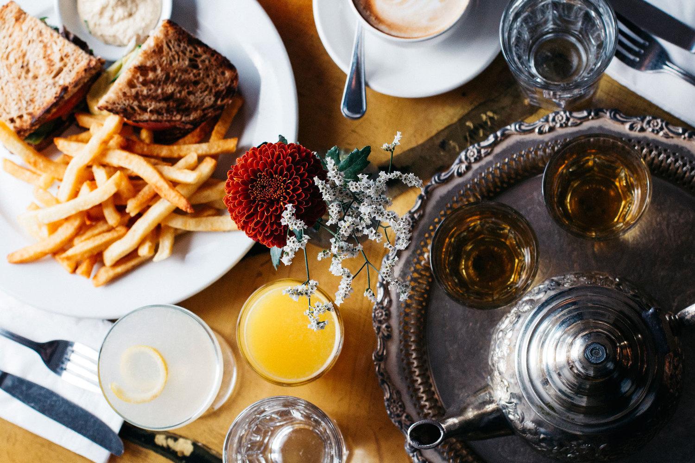 photo: cafe mogador