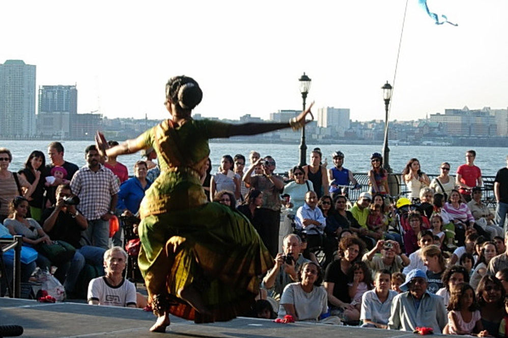 East Indian Family Dance at Battery Park, NYC, 2009