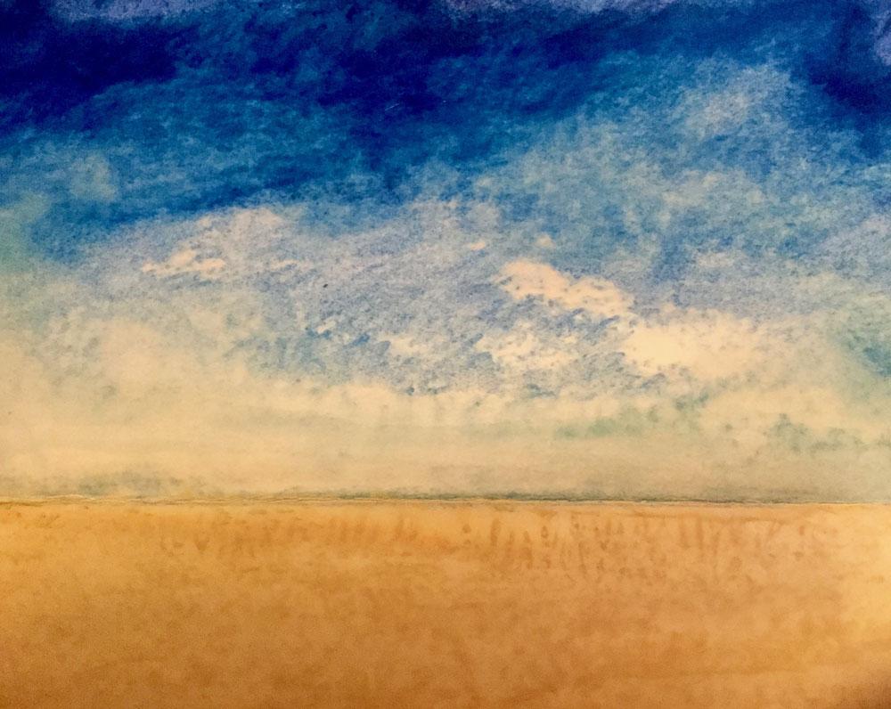 Wheat Sea ~ 5x7 SOLD