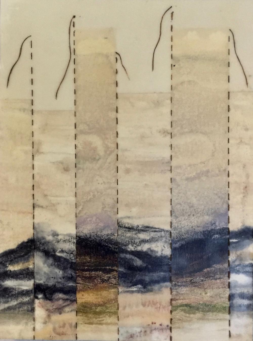 Mending Mountains ~ 9x12