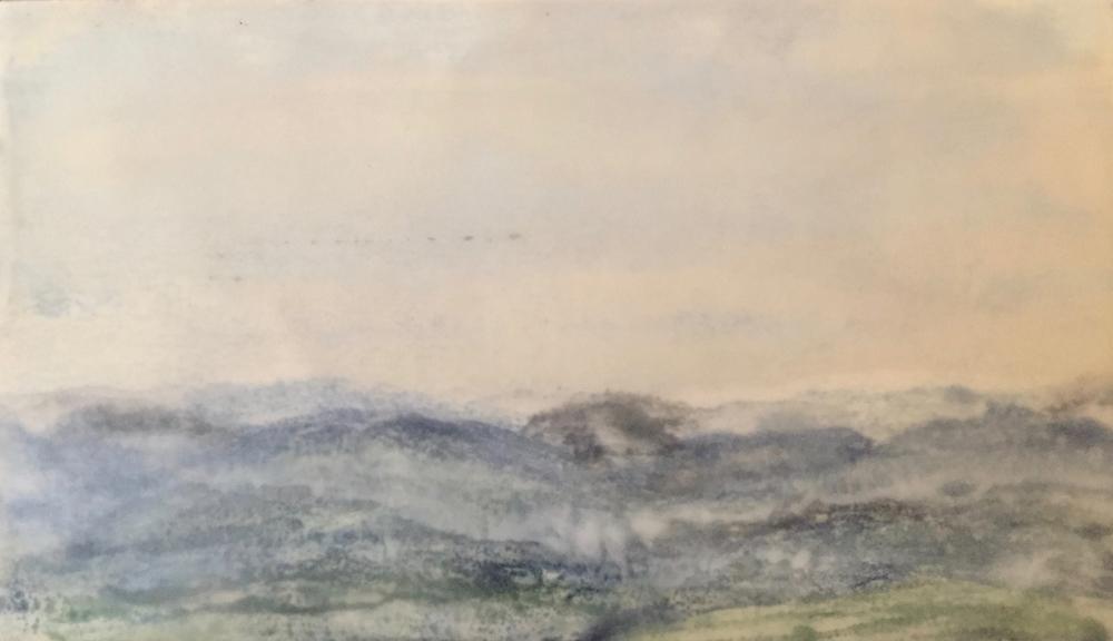 Shenandoah Dawn ~ 5.5x10
