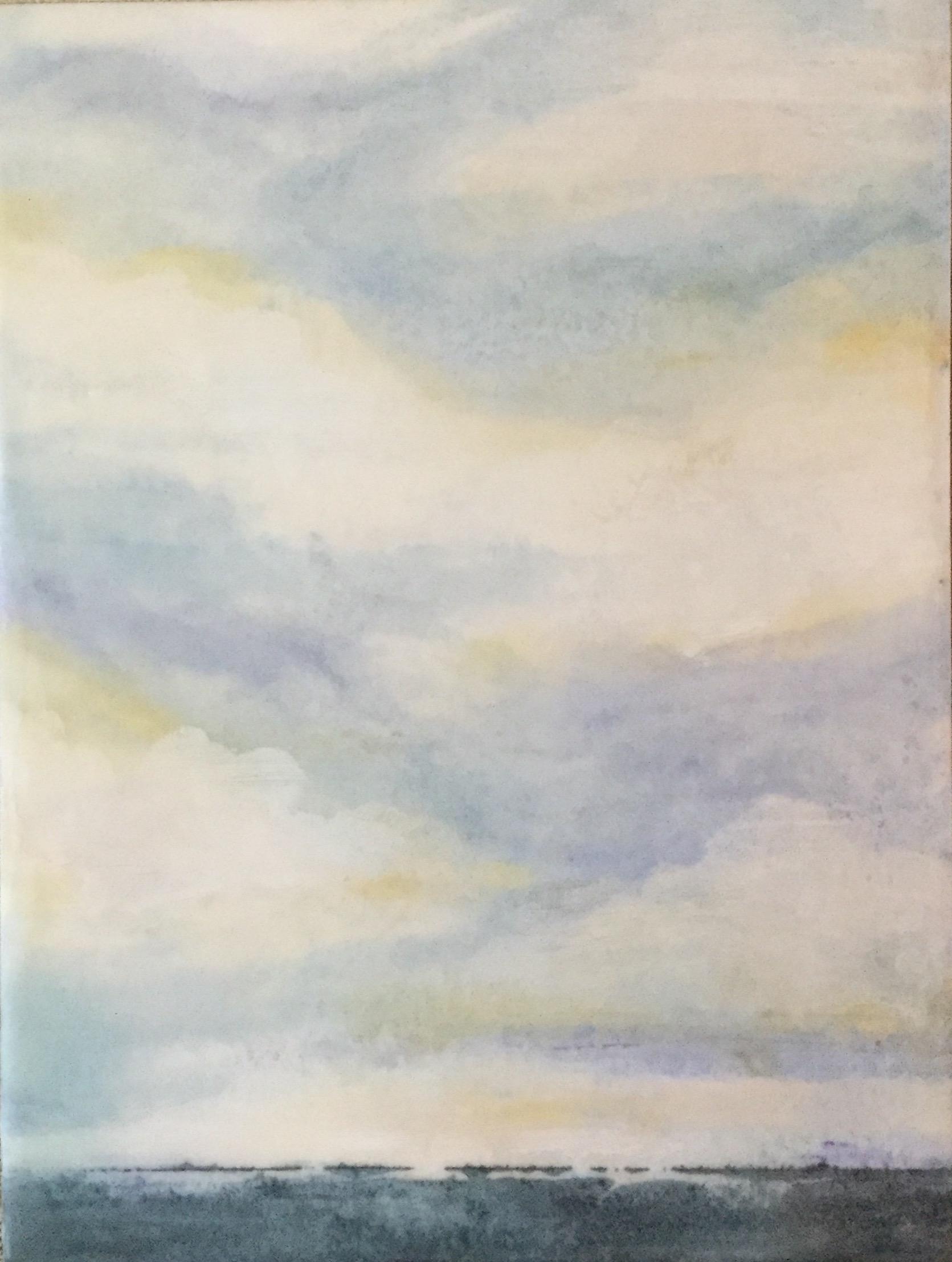 September Sky ~ 6 x 8