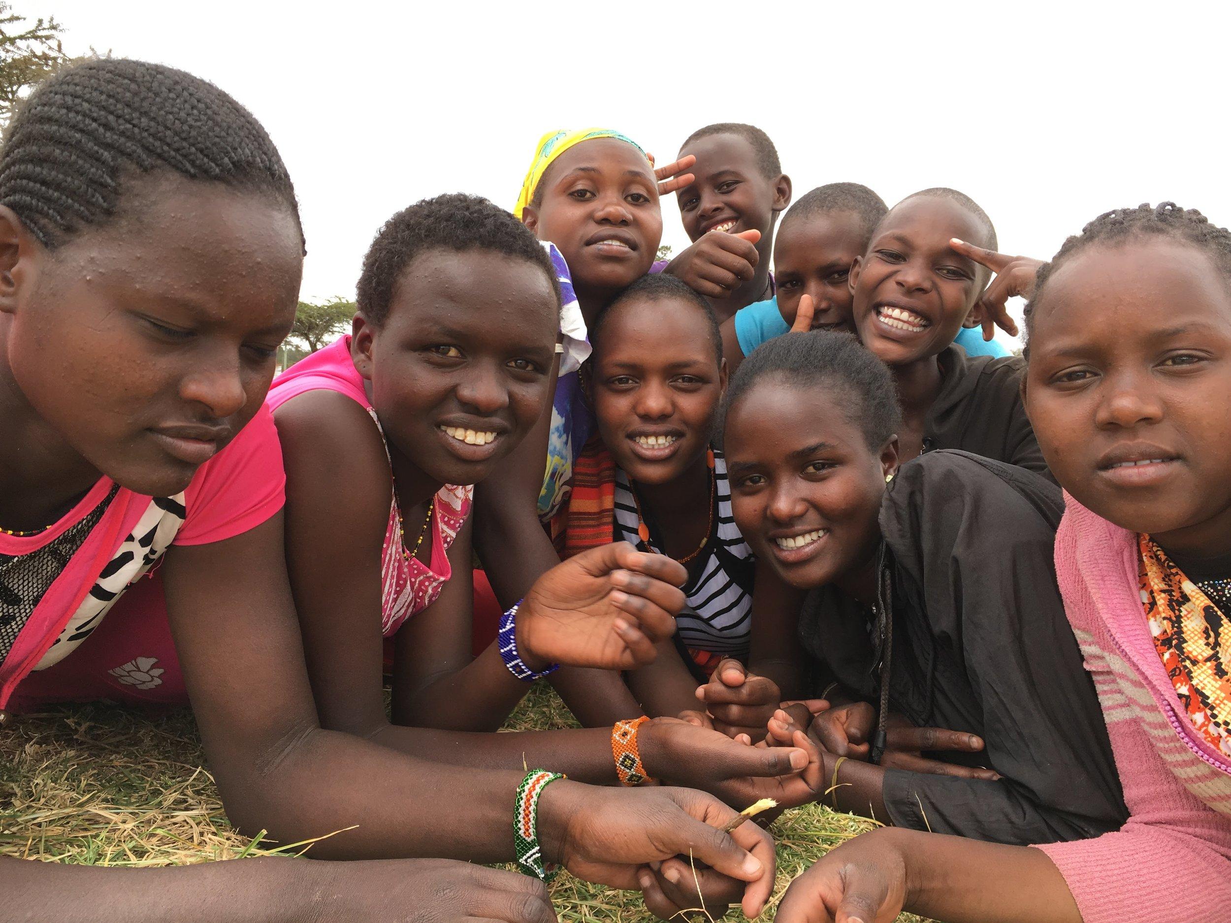 Samburu Girls Foundation  Photo via: Lesley Saeger