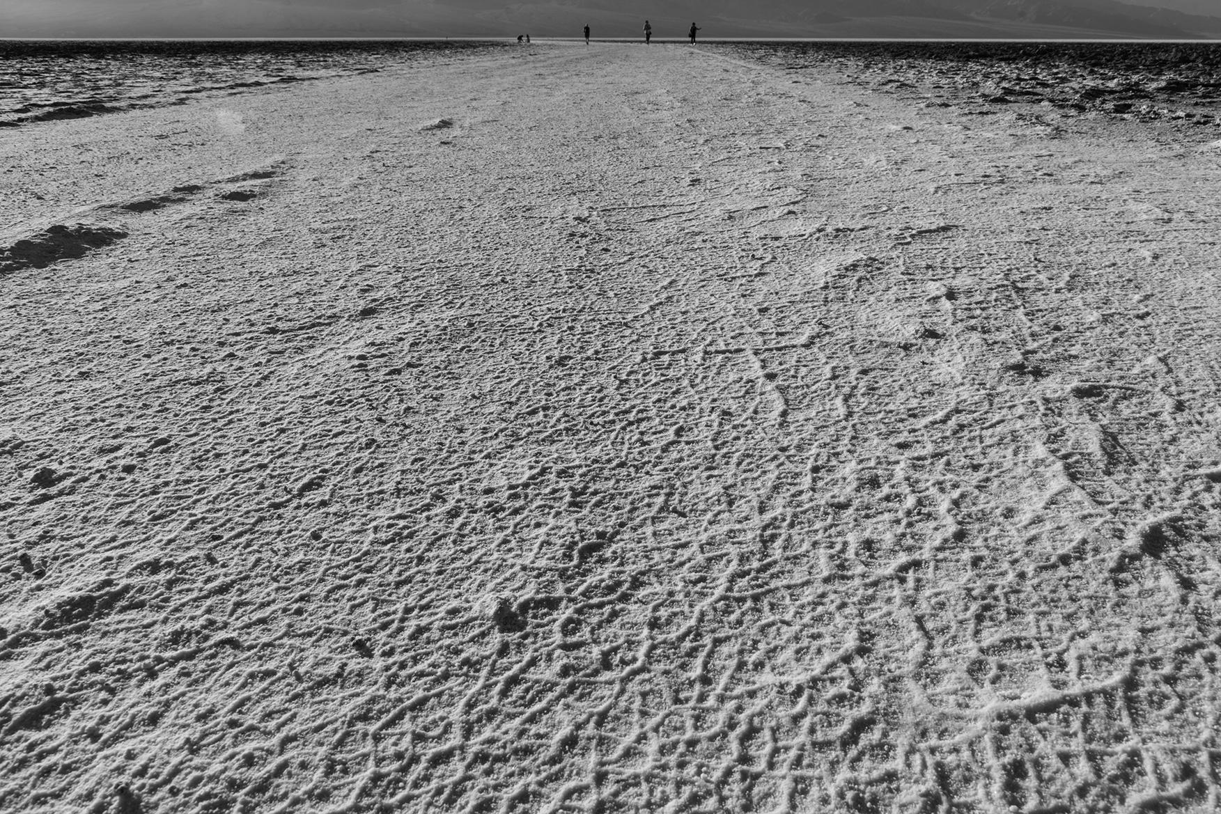 Salt Flats, Death Valley, US
