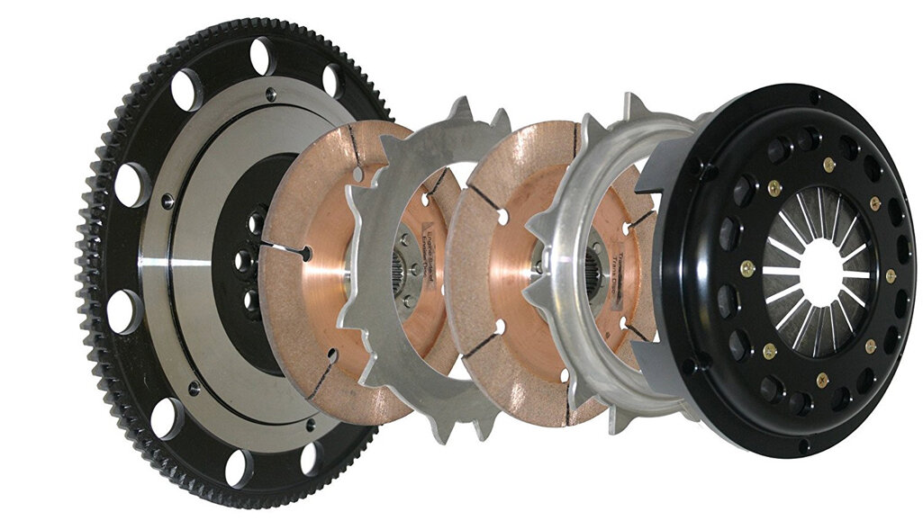 RPC STAGE 2 CLUTCH KIT FOR HONDA CIVIC TYPE R EP3 FN2 K20 INTEGRA DC5 K-SERIES