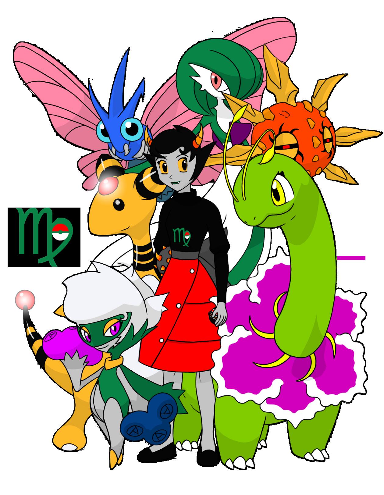 Homestuck-Pokémon Crossover Part 3 - Kanaya