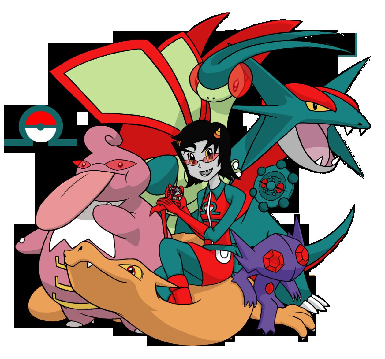 Homestuck-Pokémon Crossover Part 2 - Terezi