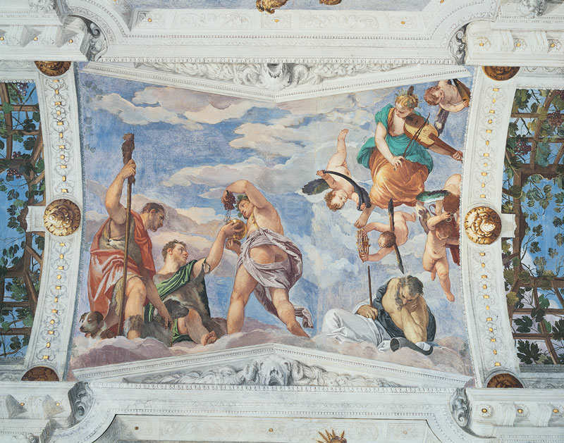 Paolo Veronese – Bacco e i pastori   Copyright Villa di Maser
