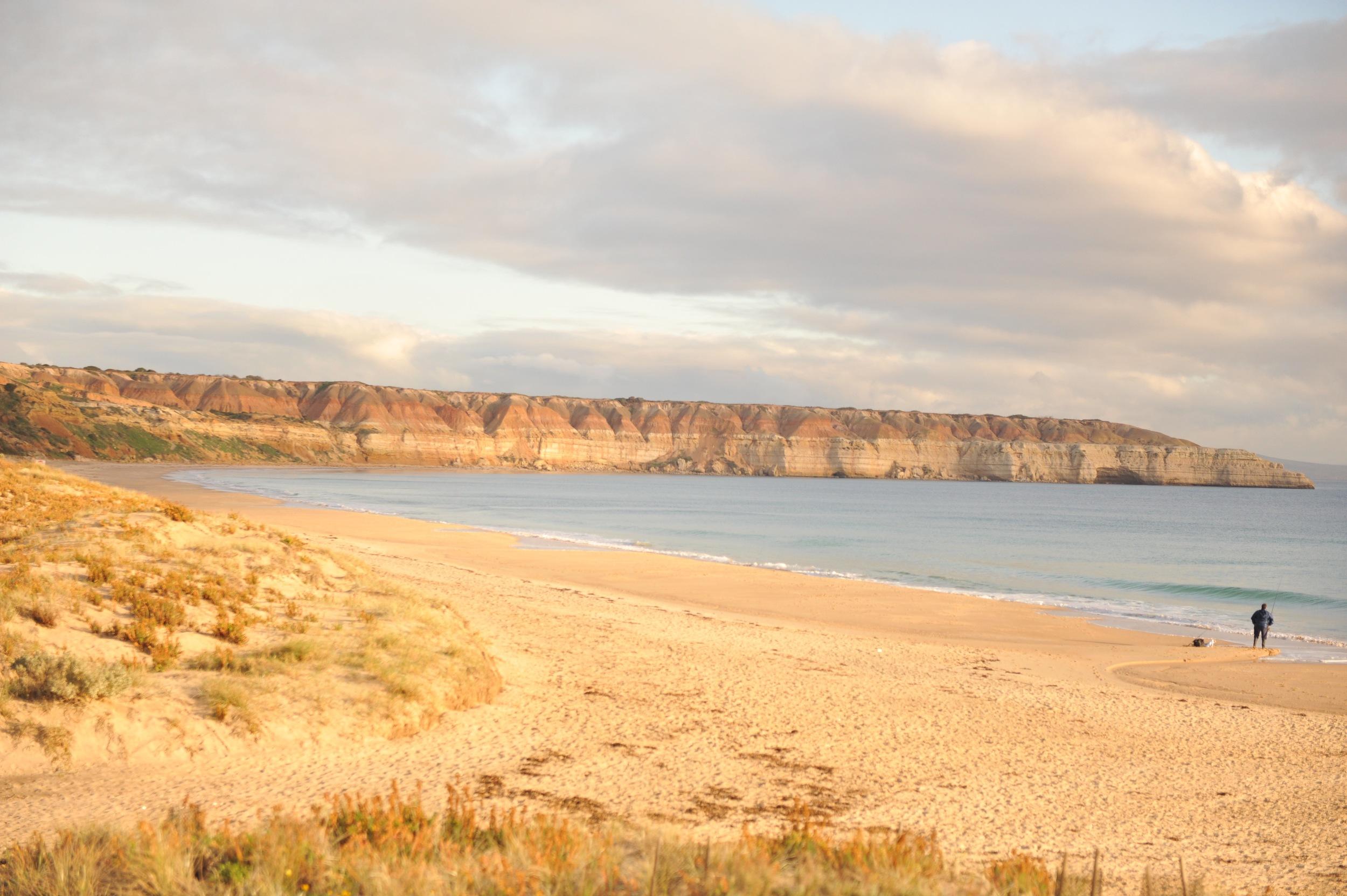 Dusk at  Maslin Beach