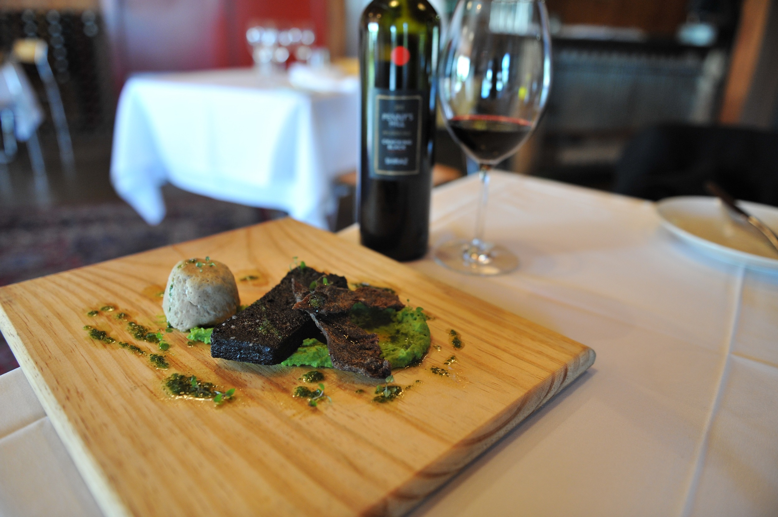 Black pudding and jerky at  The Kitchen Door